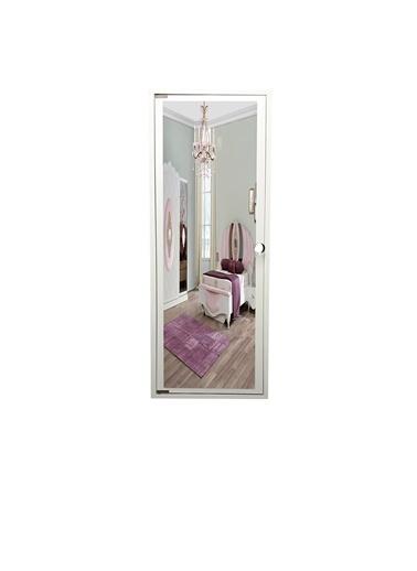 First Mobilya First Mobilya - Trendy - Duvara Asma - Demonte - Aynalı - Takı Dolabı  Beyaz